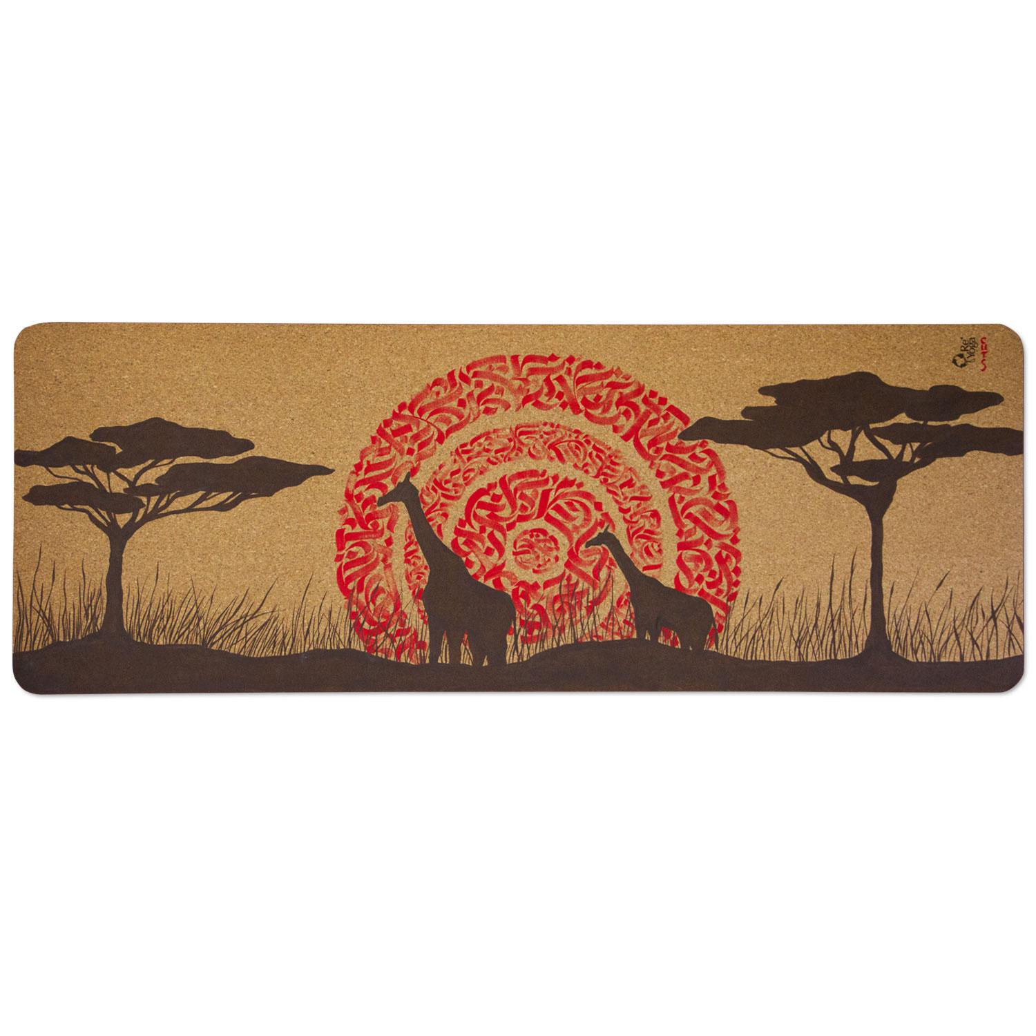 tappetino yoga in sughero remat cork yoga mat africa yoga project CUTS