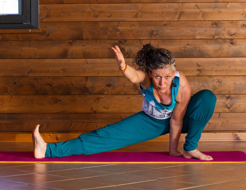 pantalone yoga da donna lungo reyoga