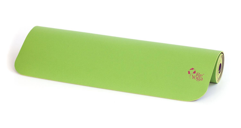 tappetino yoga antiscivolo in gomma naturale reyoga