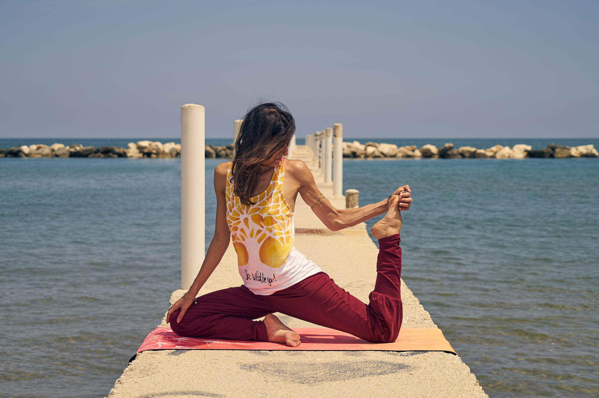 tappetino per yoga dinamico Wabi Sabi Mandala Sunset 6