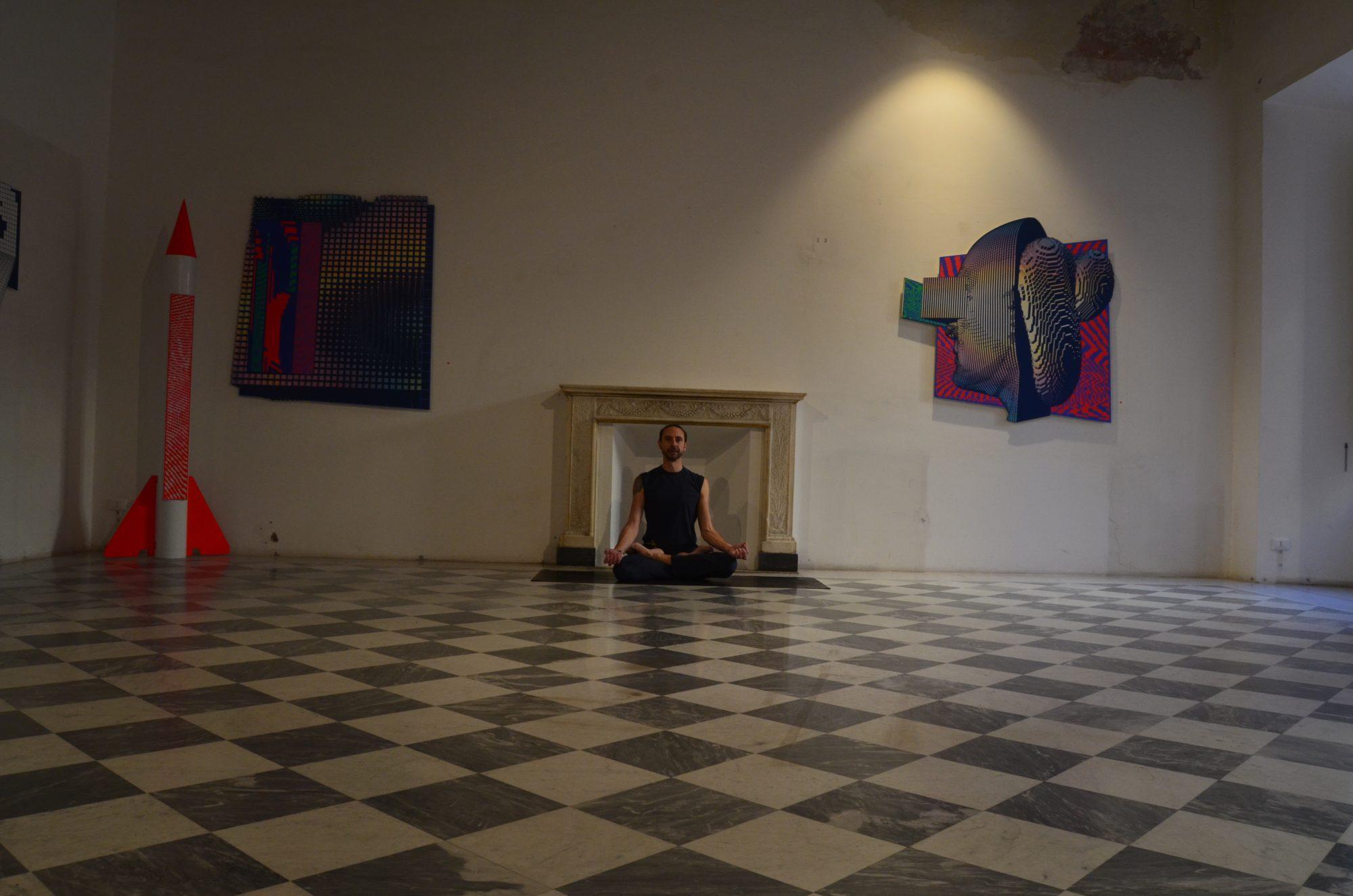 Marco Sebastiani yoga asana