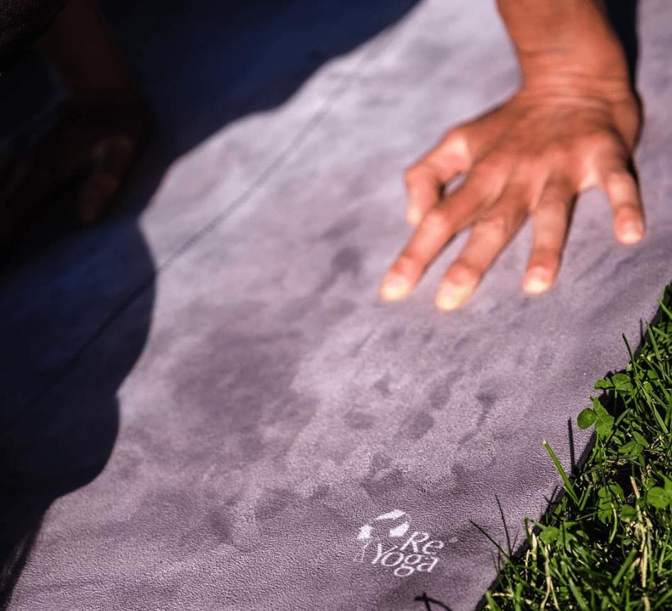 Samanta Carpeggiani tappetino yoga