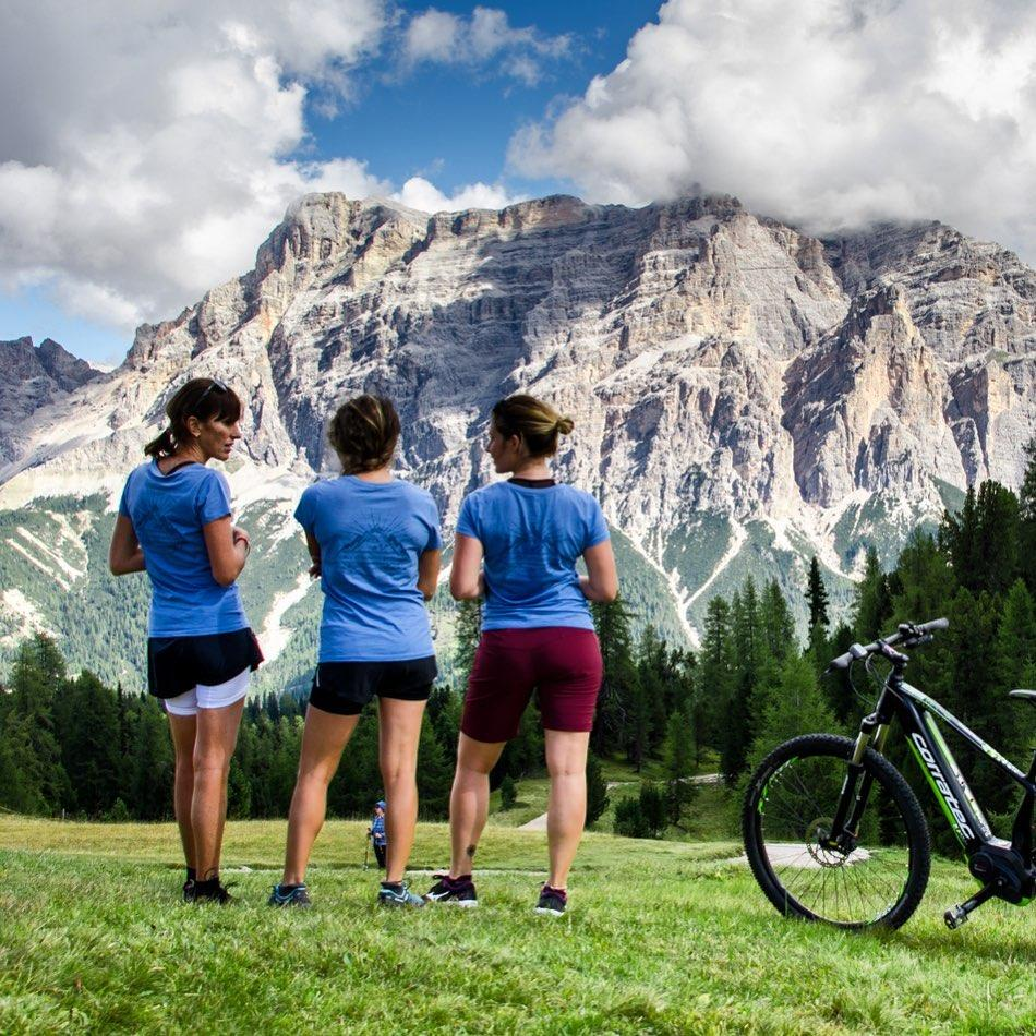 girls dolomites basecamp wild retreat